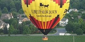 Hot Air Balloon in Lancaster, PA
