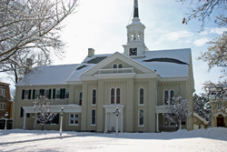 Moravian Church - Snow