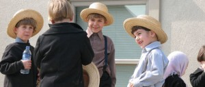 Amish Boys Talking