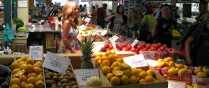 Farmers Market Fruit Stand
