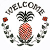 Welcome hex sign