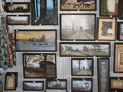 Lil Country Store framed prints