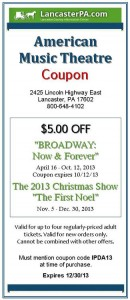 American Music Theatre Coupon
