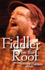 Fiddler on the Roof at Dutch Apple Dinner Theatre