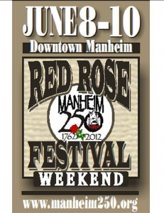 Manheim Red Rose Festival