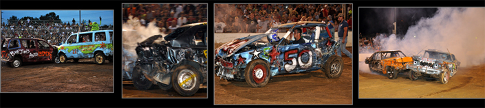 Buck Motorsports Park - Demolition Derby