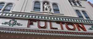 The Historic Fulton Theatre in Downtown Lancaster