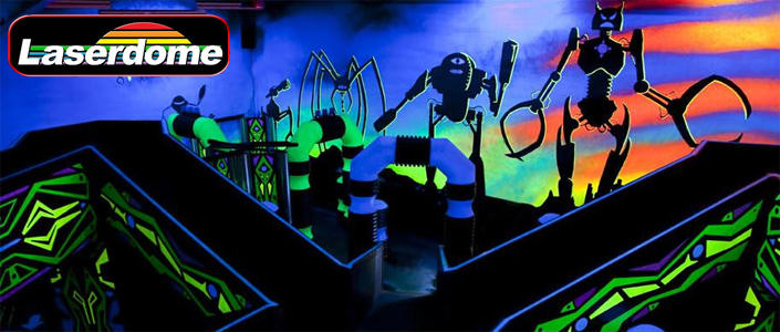 Laserdome Laser Tag And High Tech Fun Things To Do