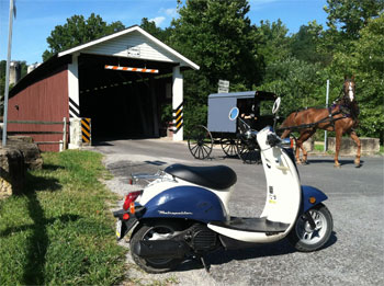 Strasburg Scooters Amish Country Tours